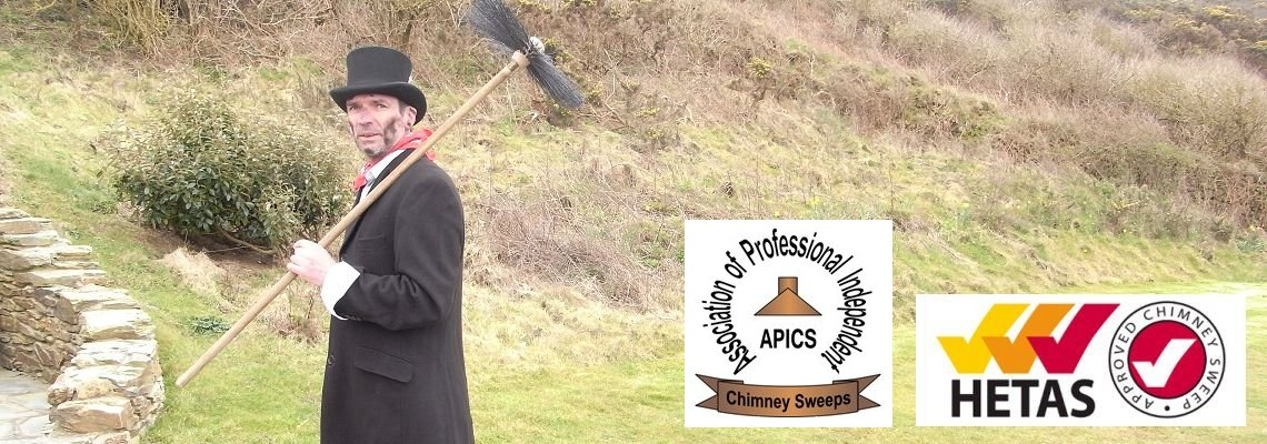 Chimney sweep in Bideford